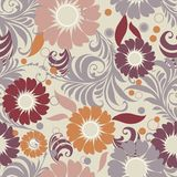 Abstract seamless pattern.Vector illustration Royalty Free Stock Images