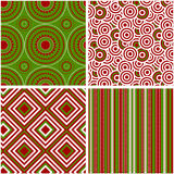 Abstract seamless pattern. Vector illustration. Royalty Free Stock Image