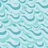 Abstract seamless pattern. Vector illustration for your design Stock Image