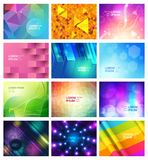 Abstract seamless pattern vector modern abstraction and textured geometric background set of abstracted futuristic Royalty Free Stock Image