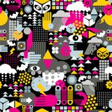 Abstract seamless pattern. Stock Photo