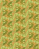 Abstract seamless pattern. vector tracery. khaki background. Abstract seamless pattern. vector tracery. khaki textile background Royalty Free Stock Images