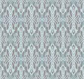 Abstract seamless pattern in victorian style. Vector illustration Royalty Free Stock Photography