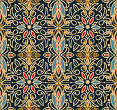 Abstract seamless pattern in victorian style Stock Photos