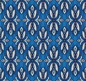 Abstract seamless pattern in victorian style. Vector illustration Stock Images