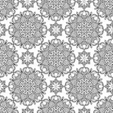 Abstract Seamless Pattern. Vintage Ornament Pattern. Islamic, Ar stock illustration