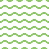 Abstract seamless pattern. Wave. Geometric fashion design print. Monochrome. Wallpaper stock illustration