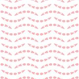 Abstract seamless pattern with wave-like elements. Vector background vector illustration