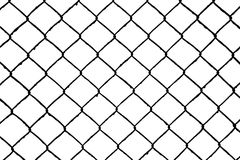 Abstract seamless pattern, wire grill. Abstract seamless as pattern, wire grill isolated on white background Stock Photo
