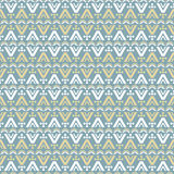 Abstract Seamless Pattern With Ethnic Motifs Stock Photo