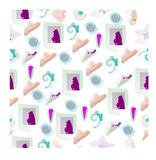 Abstract, seamless pattern. Stock Image
