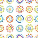 Abstract seamless pattern for your design Royalty Free Stock Photos