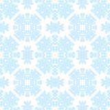 Abstract seamless pattern for your winter design. Christmas Ornamental Decor Background. Winter Holiday Snowflakes lacy tile ornament. Christmas Ornamental Royalty Free Stock Photography