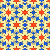 Abstract seamless patterns. Royalty Free Stock Photography