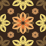 Abstract seamless patterns. Royalty Free Stock Images