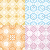 Abstract seamless patterns Royalty Free Stock Photography