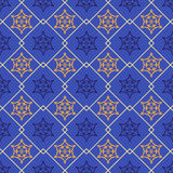 Abstract seamless patterns in Islamic style. Royalty Free Stock Photography
