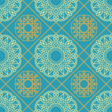 Abstract seamless patterns in Islamic style. Stock Photography