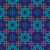 Abstract seamless patterns in Islamic style. Royalty Free Stock Images