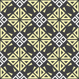 Abstract seamless patterns in Islamic style. Stock Photo