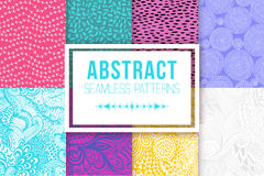 Abstract seamless patterns se vector textures Stock Photos