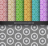 Abstract seamless patterns Royalty Free Stock Image