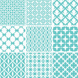 Abstract seamless patterns Stock Image