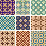 Abstract seamless patterns Stock Images