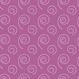 Abstract seamless pink background with white spirals. Abstract seamless pink background with different white spirals of dots Royalty Free Stock Photography