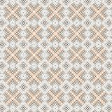 Abstract Seamless Plaid Brown Beige Grid Vibrant Pattern Background. Abstract Modern Unique Plaid Colorful  Vibrant  Mesh Grid  Fabric Fashion Texture Vector Royalty Free Stock Image