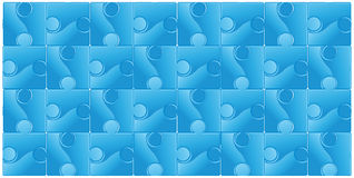 Abstract seamless puzzle background Stock Photo