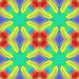 Abstract seamless repeat pattern Stock Photography