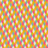 Abstract seamless repeat pattern with rhombs, seamless geometric Royalty Free Stock Images