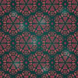 Abstract Seamless Retro Background Pattern Royalty Free Stock Photos