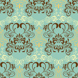 Abstract seamless retro pattern Stock Photography