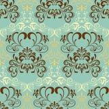 Abstract seamless retro pattern. Illustration royalty free illustration