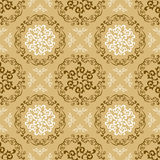 Abstract seamless retro pattern Stock Photo