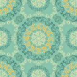 Abstract seamless retro pattern Royalty Free Stock Photo
