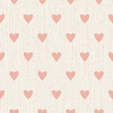 Abstract seamless retro pattern with hearts Royalty Free Stock Photography