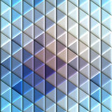 Abstract seamless rhombus pattern. Royalty Free Stock Images