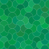Abstract seamless scale green pattern. royalty free illustration