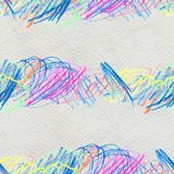 Scribble hand drawn pattern Royalty Free Stock Image