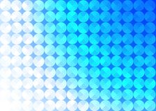 Abstract Seamless Shiny Circles in Blue Background vector illustration