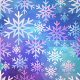 Abstract seamless snow pattern Stock Photography