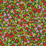 Abstract seamless spring floral ornament Stock Images