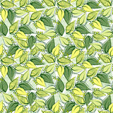 Abstract seamless spring pattern Stock Photography
