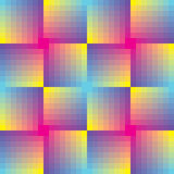 Abstract seamless square  mosaic background Stock Images