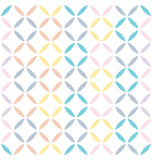 Abstract Seamless Squares Pattern Royalty Free Stock Image