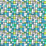 Abstract seamless squares tiles background Stock Photos