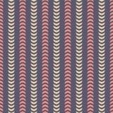 Abstract seamless stripe pattern. Modern stylish texture. Repeating geometric shapes. Arrow symbols. stock illustration